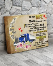 TRUCKER'S WIFE  - Premium 14x11 Gallery Wrapped Canvas Prints aos-canvas-pgw-14x11-lifestyle-front-13