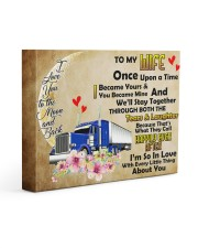 TRUCKER'S WIFE  - Premium 14x11 Gallery Wrapped Canvas Prints front