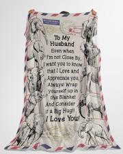 "GIFT FOR HUSBAND- PREMIUM Large Fleece Blanket - 60"" x 80"" aos-coral-fleece-blanket-60x80-lifestyle-front-10"