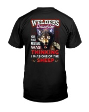 Welder's Daughter - I'm the Wolf Classic T-Shirt thumbnail