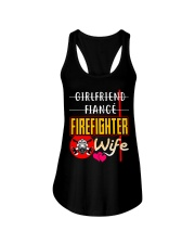 FIREFIGHTER'S WIFE  Ladies Flowy Tank thumbnail
