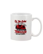 RETIRED TRUCKER Mug tile
