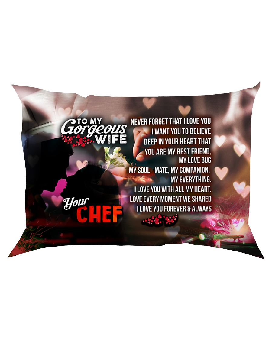 GIFT FOR A CHEF'S WIFE - PREMIUM Rectangular Pillowcase