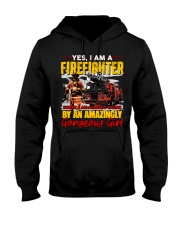 Firefighter Hooded Sweatshirt front