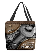 MECHANIC'S GIRL All-over Tote front