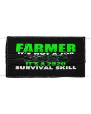 FARMER Cloth face mask front