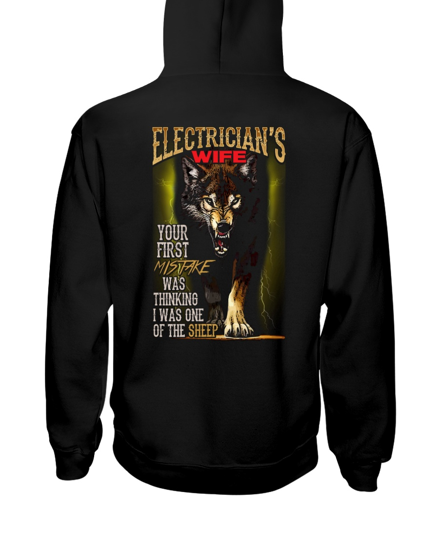 ELECTRICIAN'S WIFE - I'M THE WOLF   Hooded Sweatshirt