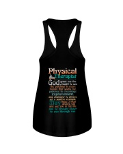 A PHYSICAL  THERAPIST'S PRAYER Ladies Flowy Tank tile