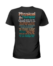 A PHYSICAL  THERAPIST'S PRAYER Ladies T-Shirt tile