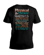 A PHYSICAL  THERAPIST'S PRAYER V-Neck T-Shirt tile