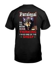 Paralegal - I'm the Wolf Classic T-Shirt thumbnail
