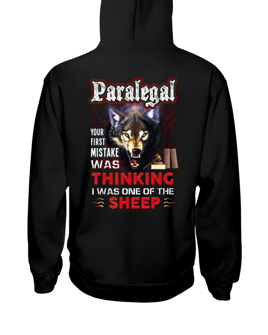 Paralegal - I'm the Wolf Hooded Sweatshirt