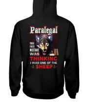 Paralegal - I'm the Wolf Hooded Sweatshirt back