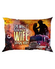 GIFT FOR A FIREFIGHTER'S WIFE - PREMIUM Rectangular Pillowcase front