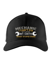 MECHANIC Embroidered Hat front