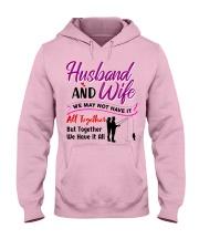 Gift For Wife Hooded Sweatshirt front