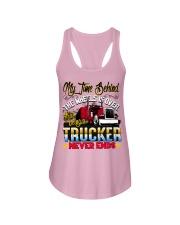 Lady Trucker Ladies Flowy Tank thumbnail
