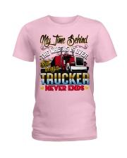 Lady Trucker Ladies T-Shirt thumbnail