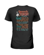 AN SLP'S PRAYER Ladies T-Shirt thumbnail
