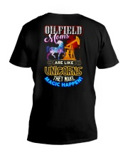 OILFIELD MOM - PAST BUYERS EXCLUSIVE V-Neck T-Shirt thumbnail