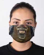 HORSE GIRL Cloth face mask aos-face-mask-lifestyle-01
