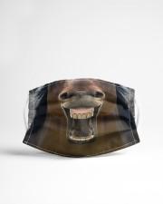 HORSE GIRL Cloth face mask aos-face-mask-lifestyle-22