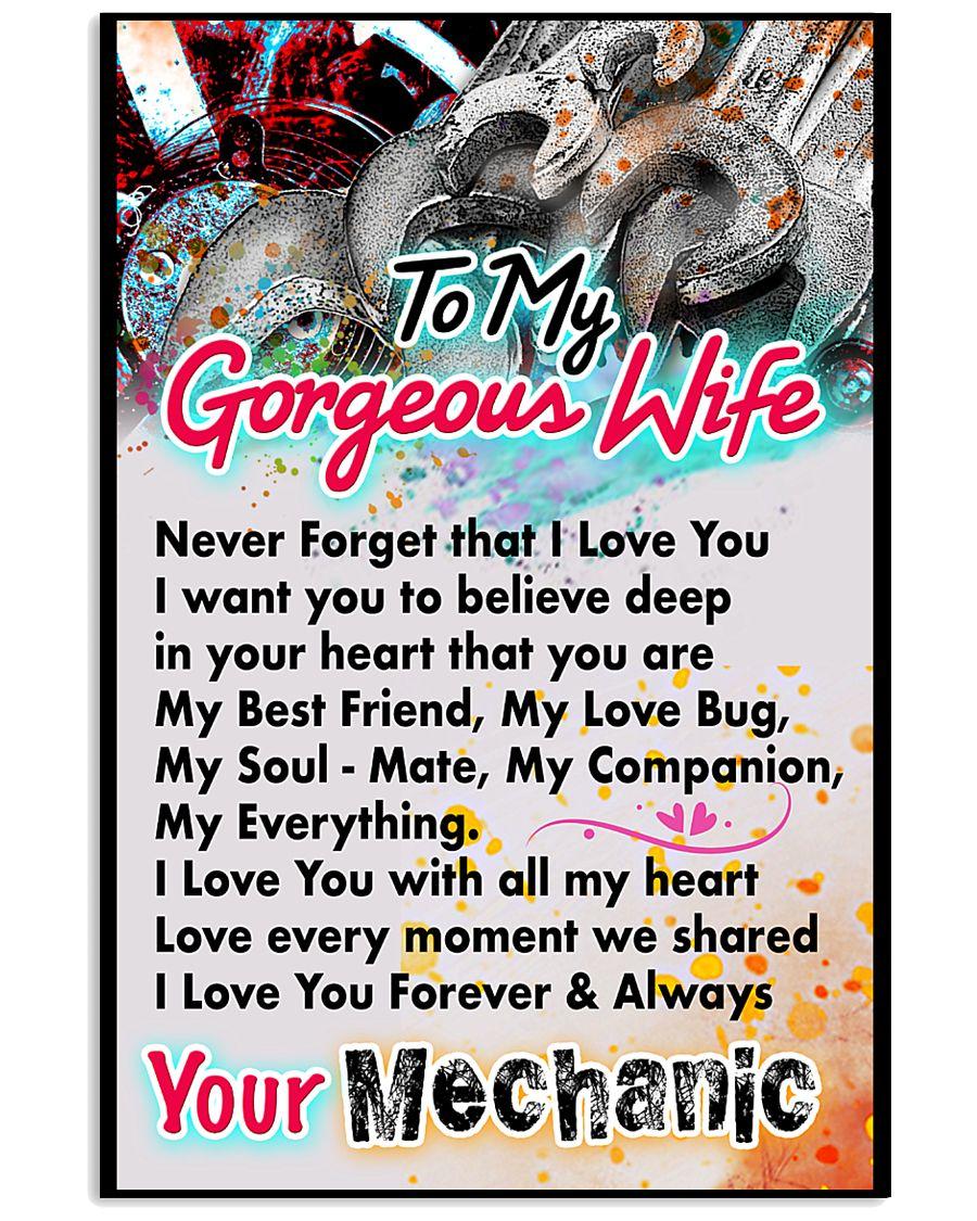 MECHANIC'S WIFE-PREMIUM 11x17 Poster