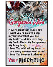 MECHANIC'S WIFE-PREMIUM 11x17 Poster front