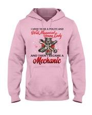 Lady Mechanic Hooded Sweatshirt front