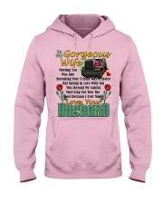 Trucker's Wife Hooded Sweatshirt front