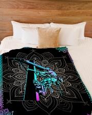 "Lineman Premium Large Fleece Blanket - 60"" x 80"" aos-coral-fleece-blanket-60x80-lifestyle-front-02"