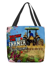 FARMER'S GIRLFRIEND All-over Tote back
