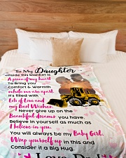 "HEO's Daughter - Black Friday Sale Large Fleece Blanket - 60"" x 80"" aos-coral-fleece-blanket-60x80-lifestyle-front-02"