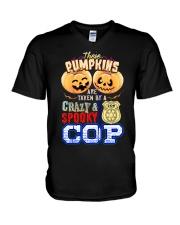 COP'S GIRL V-Neck T-Shirt tile