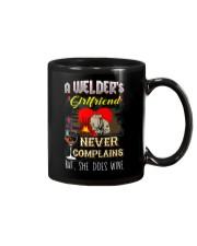 WELDER'S GIRLFRIEND LOVES WINE Mug thumbnail