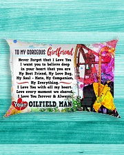 GIFT FOR YOUR GIRLFRIEND- PREMIUM Rectangular Pillowcase aos-pillow-rectangle-front-lifestyle-5