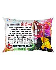 GIFT FOR YOUR GIRLFRIEND- PREMIUM Rectangular Pillowcase front
