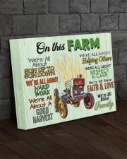 Farmer- Premium 14x11 Gallery Wrapped Canvas Prints aos-canvas-pgw-14x11-lifestyle-front-11