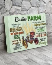 Farmer- Premium 14x11 Gallery Wrapped Canvas Prints aos-canvas-pgw-14x11-lifestyle-front-13