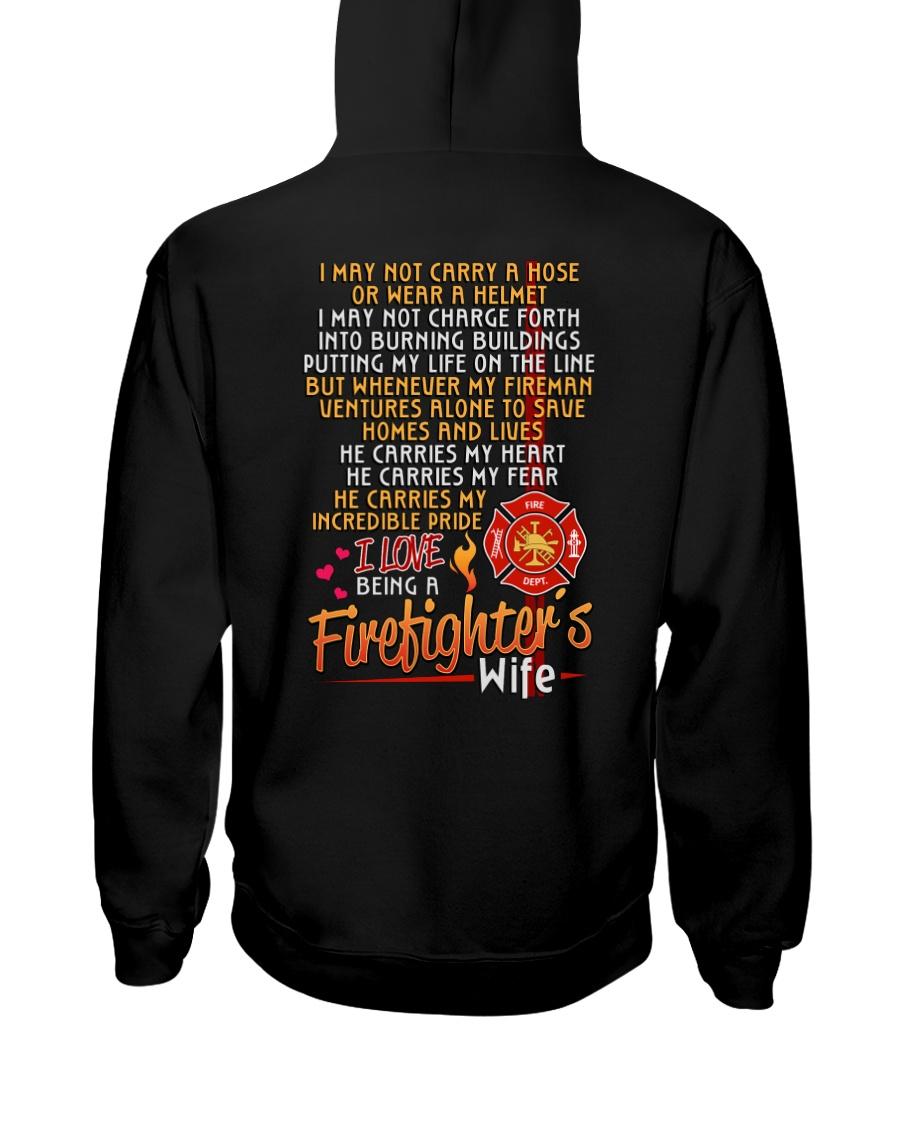 FIREFIGHTER'S WIFE  Hooded Sweatshirt