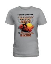 Mountain Biking Ladies T-Shirt thumbnail