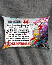 GIFT FOR AN ELECTRICIAN'S WIFE- PREMIUM Rectangular Pillowcase aos-pillow-rectangle-front-lifestyle-1