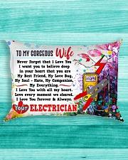 GIFT FOR AN ELECTRICIAN'S WIFE- PREMIUM Rectangular Pillowcase aos-pillow-rectangle-front-lifestyle-5