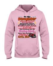 Trucker's Daughter Hooded Sweatshirt front