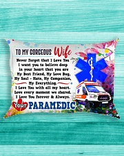 GIFT FOR A PARAMEDIC'S WIFE - PREMIUM Rectangular Pillowcase aos-pillow-rectangle-front-lifestyle-5