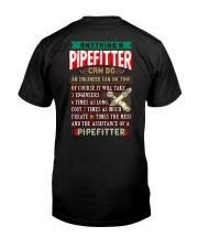 PIPEFITTERS  vs ENGINEERS Classic T-Shirt back