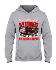 Old Trucker Hooded Sweatshirt front