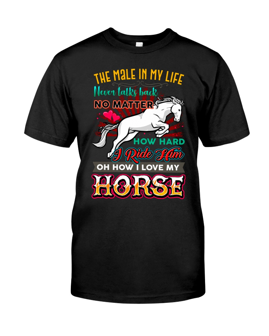 HORSE GIRL - PAST BUYERS EXCLUSIVE Classic T-Shirt
