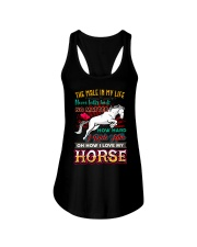 HORSE GIRL - PAST BUYERS EXCLUSIVE Ladies Flowy Tank thumbnail