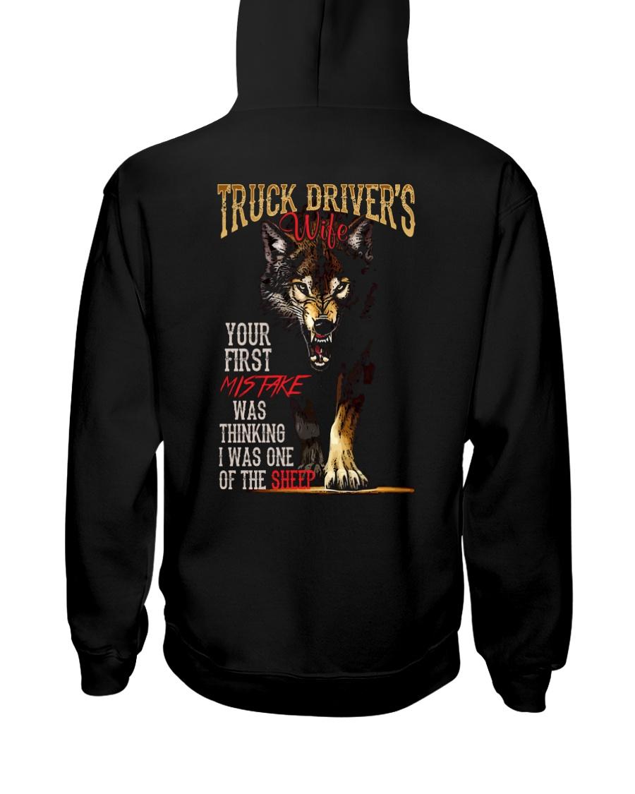 TRUCKER'S WIFE - I'M THE WOLF   Hooded Sweatshirt